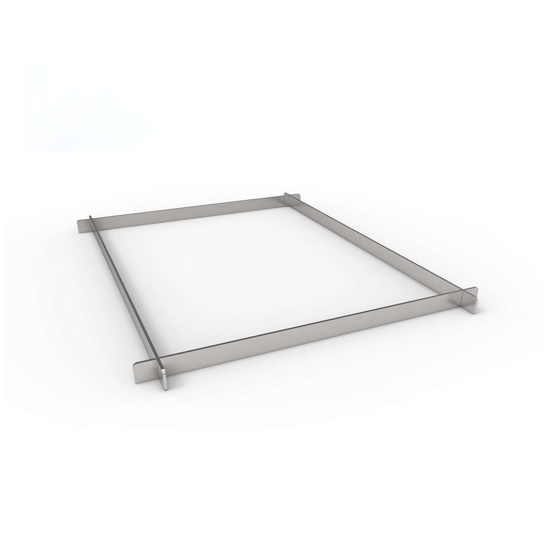 Frame for stuffing 15 mm, stainless steel KADZAMA